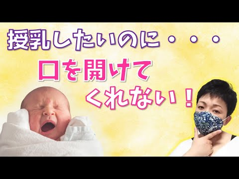 , title : '授乳時に口を大きく開けない赤ちゃんへの対応策
