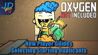 Beginners Guide: Duplicants - Skills, Interests & Traits | Oxygen Not Included