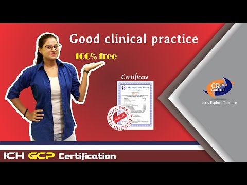 100% Free GCP Certification that every clinical research or pharmacy student must know