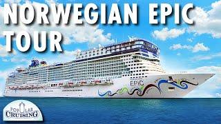 Norwegian Epic Tour ~ Norwegian Cruise Line ~ Cruise Ship Tour