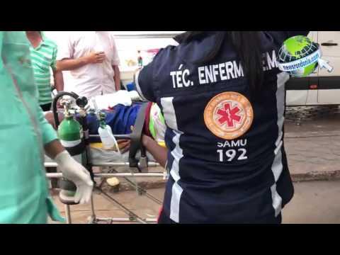 TESTEMUNHA ATROPELA CRIMINOSOS APÓS TENTATIVA DE ASSALTO AO LADO DO ATACADÃO