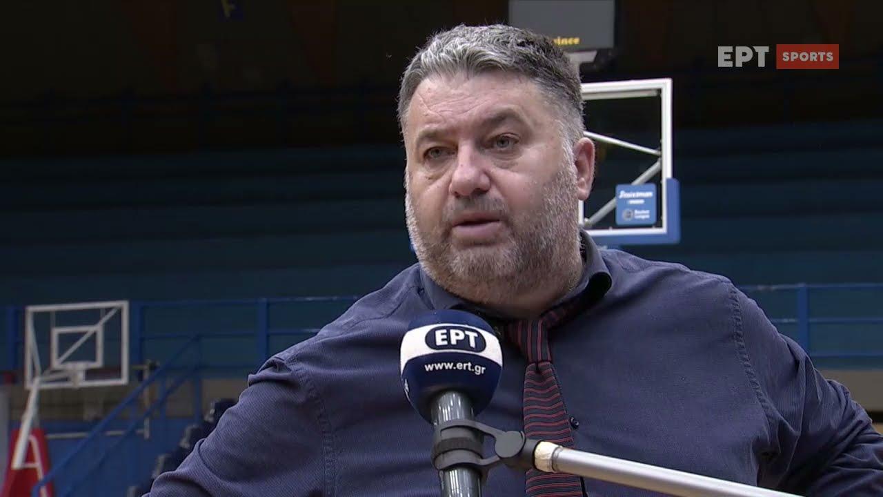Basket League   Μ.Γιατράς: Όλα θα κριθούν στα play-offs   04/04/21   ΕΡΤ