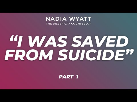 I was saved from Suicide<br />A client's Video testimonial