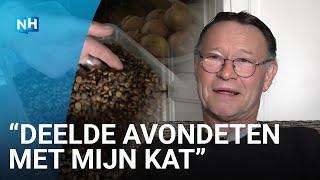 De kat van Hans kan weer eten dankzij de dierenvoedselbank