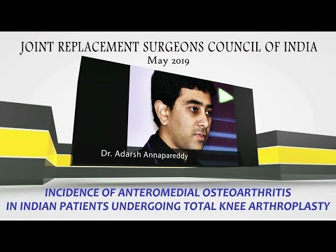 Incidence of Anteromedial Osteoarthritis in Indian Patients Undergoing TKA