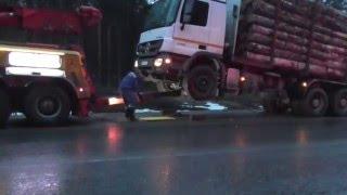 Эвакуация лесовозов, Коми