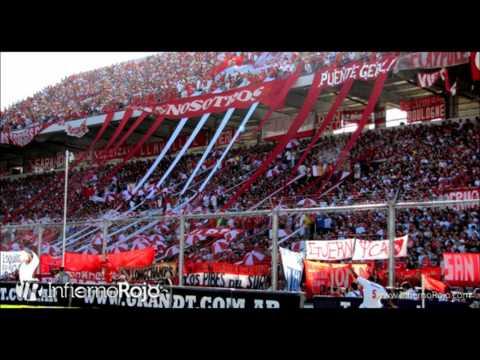 """""""Que feo ser hincha de la Academia, que nunca una alegria te va a dar"""" Barra: La Barra del Rojo • Club: Independiente • País: Argentina"""