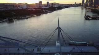 Drone flights brisbane city