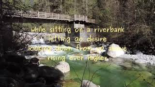 Sitting on a Riverbank