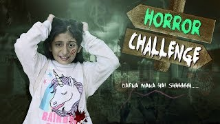 "Follow Insta for Behind The Scene: https://tinyurl.com/MyMissAnand  Finally!! Your WAIT is Over as the Most requested ""HORROR CHALLENGE"" is here. Hope you'll enjoy watching how I've faced those scary Challenges to reach my doll.  Do LIKE & SHARE it & also COMMENTS below which part of the video you found the most scary one?? Let's Target 2,00,000 LIKES ...  My AWESOME Channels:  SUBSCRIBE To ShrutiArjunAnand - https://goo.gl/1gmCTA SUBSCRIBE To ShrutiVlogs - https://goo.gl/00seNe SUBSCRIBE To MyMissAnand - https://goo.gl/mnBhXg SUBSCRIBE To Anaysa - https://goo.gl/5A2h93 SUBSCRIBE To CookWithNisha - https://goo.gl/Kep2iS SUBSCRIBE To LafanGAY - https://goo.gl/XRHDrq  XoXo Miss Anand  NEW UPLOADS every FRIDAY!!!  AUDIO DISCLAIMER/CREDITS – ""Music from Epidemic Sound (http://www.epidemicsound.com)""   ** funy blogger youtube family vlog comp laugh then sketch good vs reality roleplay india vlog shruti anand comedy types of people in real life daily vlog funny videos 2018 anantya mymissanand funny girl shrutiarjunanand travel vlogs vines humor blogging trending now bloopers behind the scenes tv serials pals ylyl hindi vloggers cute letsplay"