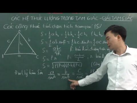 Hệ thức lượng trong tam giác vuông phần 2