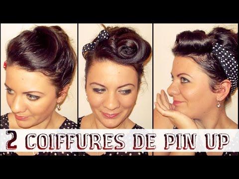 ➳ 2 coiffures de Pin Up / retro pour le réveillon   L.A Hairstyle Inspiration