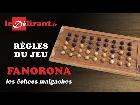 FANORONA OU DAMES MALGACHES - MIK JS050