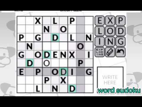 Word Logic by POWGI Trailer for Nintendo 3DS thumbnail