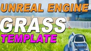 Unreal engine 4 free grass template download