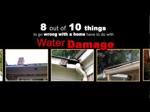 Water Damage from Failing Gutters