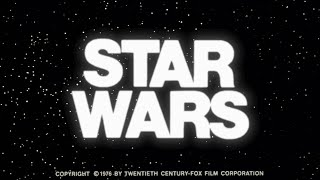 Trailer of Star Wars (1977)