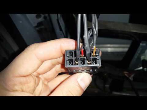 Распиновка проводов и электро схема зеркал на AUDI A4 B5