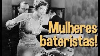 Historias da Bateria - Mulheres bateristas!