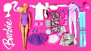 2018 Barbie Advent Calendar Opening Barbie Clothes and Accessories Toy Haul & Barbie Playset Review