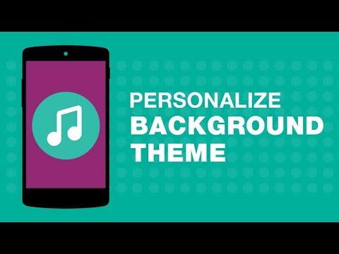 How to Set Personalised Background Theme on JioMusic?