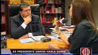 América Noticias150413Alan García Habla Sobre El Legado De Armando Villanueva Del Campo