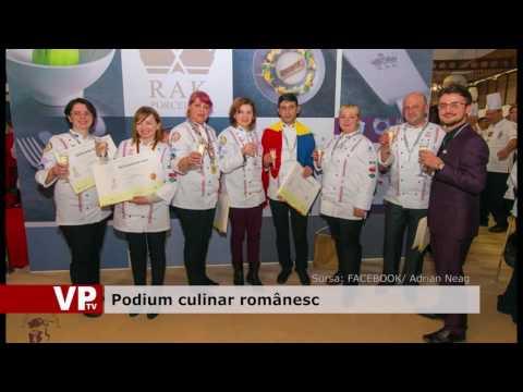 Podium culinar românesc