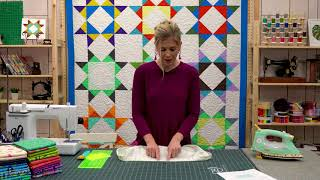 Turn A TV Tray Table Into An Ironing Board With Misty From Missouri Star Quilt Co.
