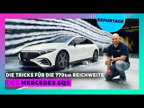 Im Windkanal: So entstand die brutale Effizienz des Mercedes EQS!