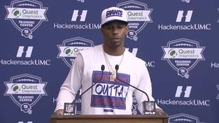Victor Cruz Press Conference | Giants vs Packers Playoffs