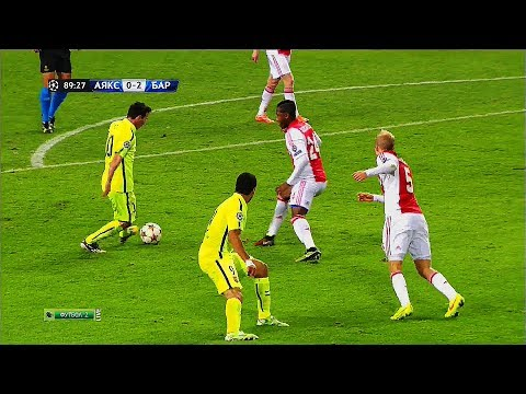 Lionel Messi ● 22 Oddly Satisfying Nutmegs Only HE Can Do in Football ¡!   HD  