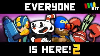 NOW Everyone is Here! - The ULTIMATE Super Smash Bros. Mod Part 2 [TetraBitGaming]