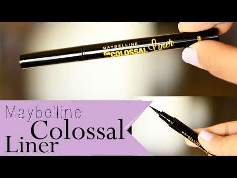 Maybelline Colossal eyeliner review & Bloopers {Delhi fashion blogger}