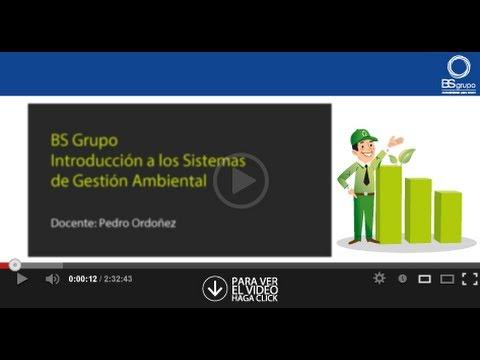 Introducción a los sistemas de gestión ambiental