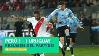 Perú vs Uruguay: 1-1 | RESUMEN y GOLES del partido amistoso en Lima