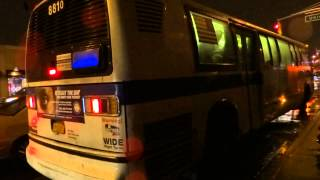 preview picture of video 'MTA New York City Bus: RTS NovaBus #8810 Q30 @ Utopia Parkway & Union Turnpike!'