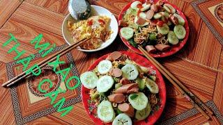 [Nấu Ăn] Ngày Đầu Ra Riêng Trổ Tài Nấu Mì Xào Thập Cẩm Cho Chồng | Cô Ba Lâm Đồng