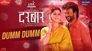 DARBAR (Hindi) - Dumm Dumm (Lyric Video)   Rajinikanth   A.R. Murugadoss   Anirudh   In Cinemas Now
