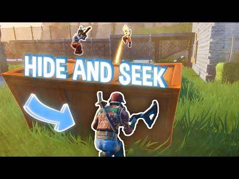 Hide N Seek ve Fortnite s Alkanem a Erikem