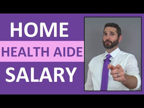 Home Health Aide Salary | How Much Money Does a Home Health Aide Make?