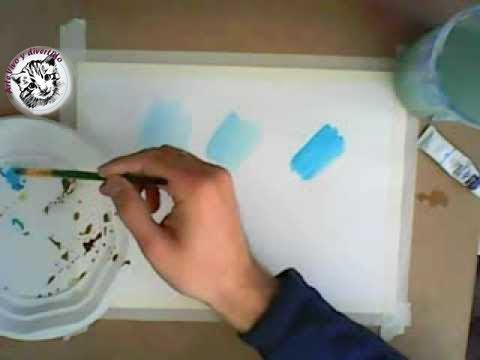 Como pintar con acuarela como utilizar la acuarela - Como pintarse bien ...