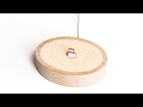 Review: iLLIPSE Dockingstation Ladestation für iPhone 5 und iPad mini Lightning aus Holz Test