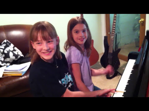 The E-Sister Boogie--an original duet developed in lessons.  Boogie on, girls!