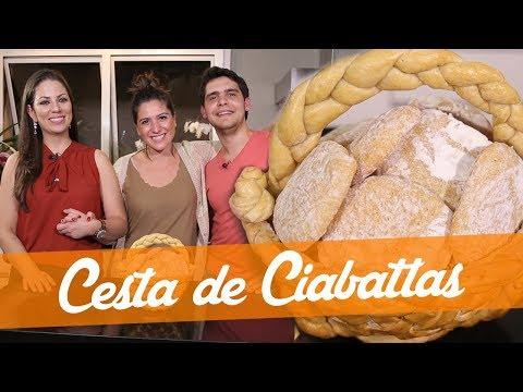 Cesta de Pães - Receita do Bake Off Brasil