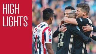 Highlights Bekerfinale Willem II - Ajax