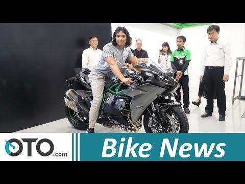 Unboxing Kawasaki Ninja H2 Carbon I OTO.Com