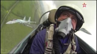 Финал «Авиадартса»  кадры из кабины истребителя