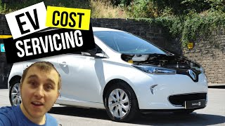 How much does it cost to service an electric car? Renault Zoe 3rd service 🔌🔋🚗