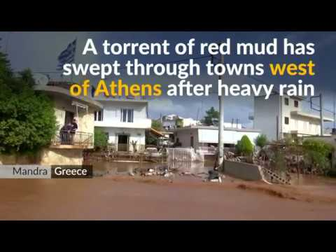 Many people killed in Greece flash floods