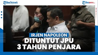 Irjen Napoleon Bonaparte Dituntut 3 Tahun Penjara, Diyakini Terima Dana Suap dari Djoko Tjandra